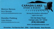 CANADA LAKE STORE